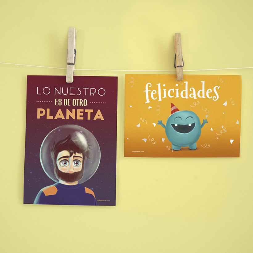 Colección de Postales ilustradas 5