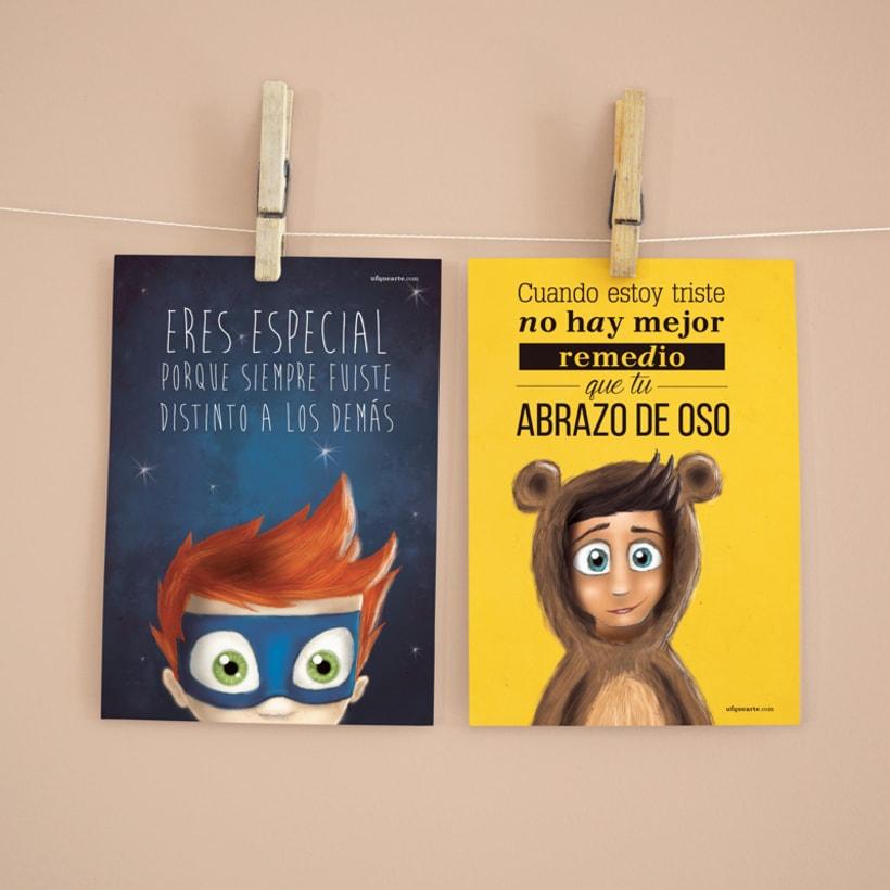Colección de Postales ilustradas 9