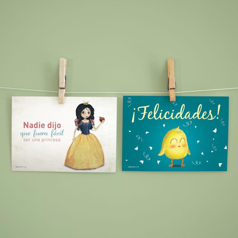 Colección de Postales ilustradas 11