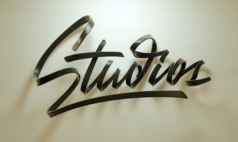 Técnicas para crear letterings 3D con Zigor Samaniego 13