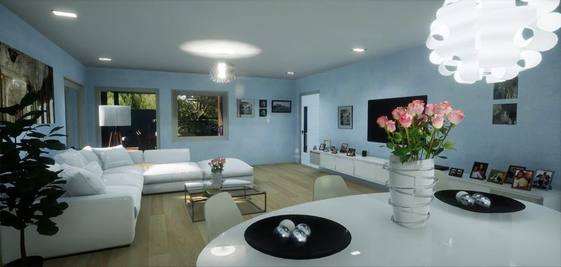 Casa Modular, Unreal Engine 4 0
