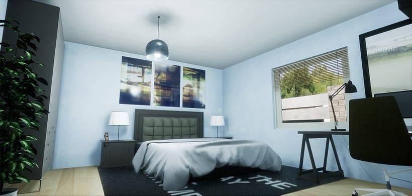 Casa Modular, Unreal Engine 4 2
