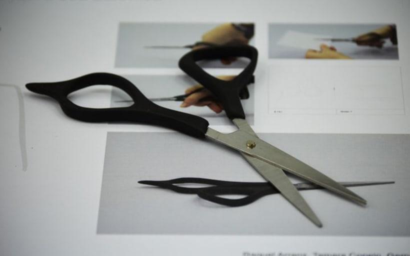 Tijeras de peluquería ergonómicas -1