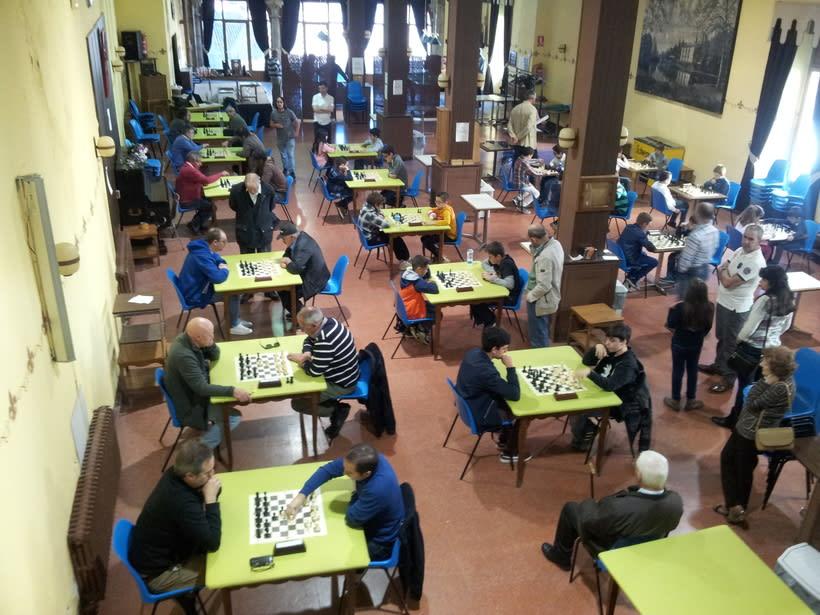 Chapa del Torneo de Ajedrez Ferias de Béjar del Casino Obrero 2