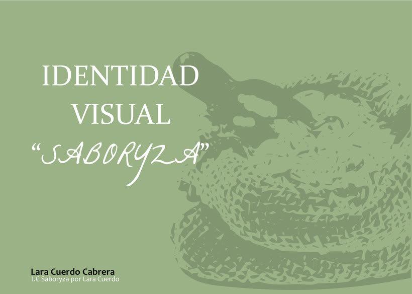 """Identidad Visual empresa de arroz """"Saboryza"""" 0"""