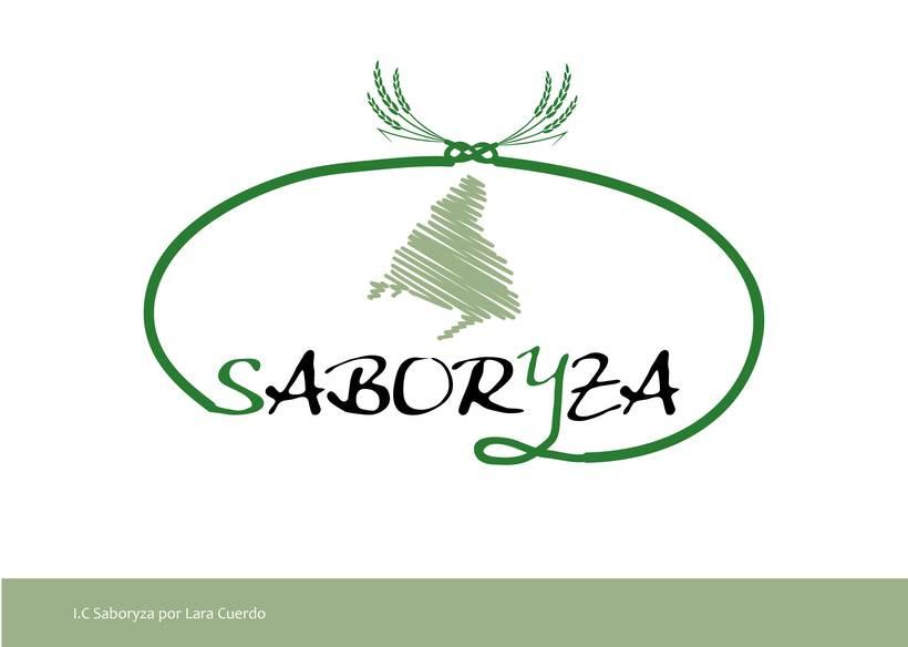 """Identidad Visual empresa de arroz """"Saboryza"""" 3"""