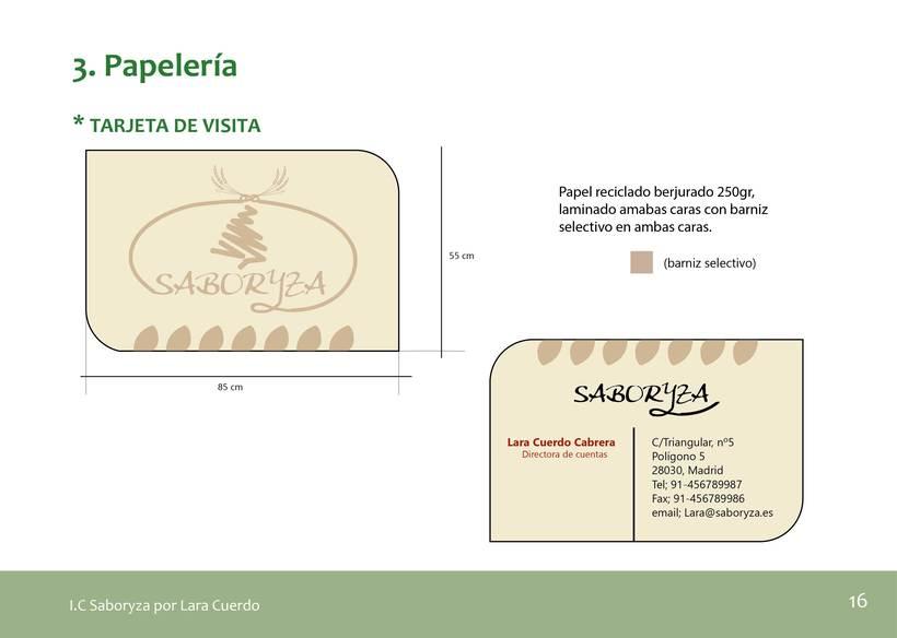 """Identidad Visual empresa de arroz """"Saboryza"""" 5"""