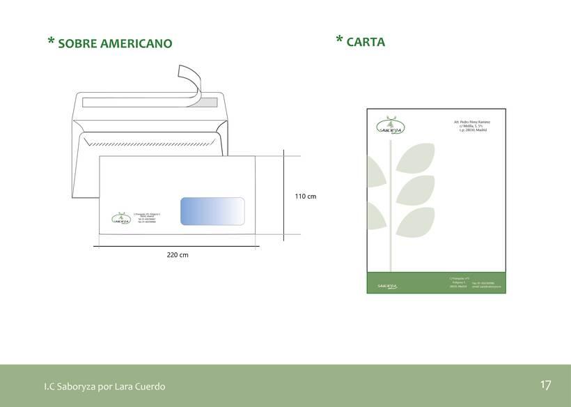 """Identidad Visual empresa de arroz """"Saboryza"""" 6"""