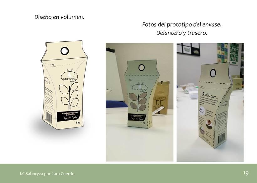 """Identidad Visual empresa de arroz """"Saboryza"""" 8"""