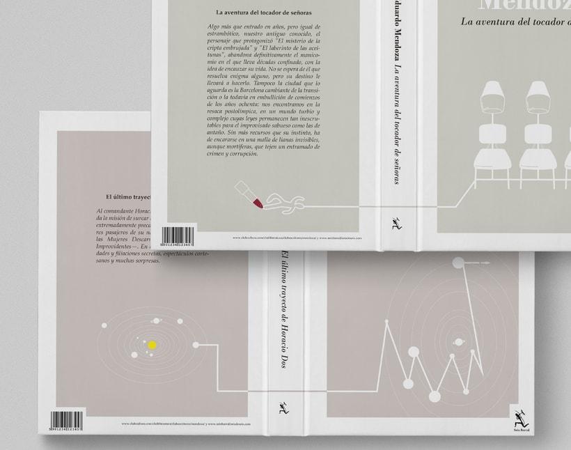 Colección de Libros Eduardo Mendoza 8