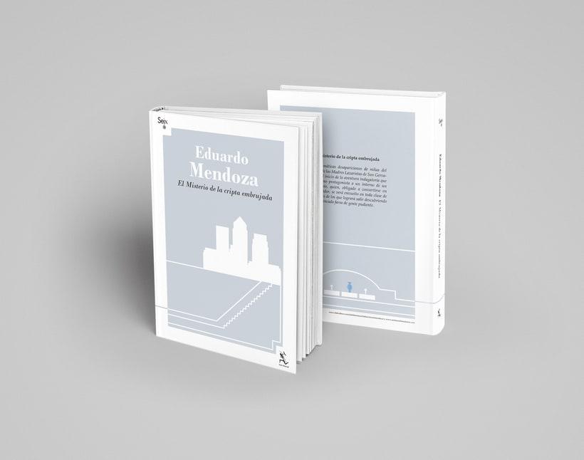Colección de Libros Eduardo Mendoza 2