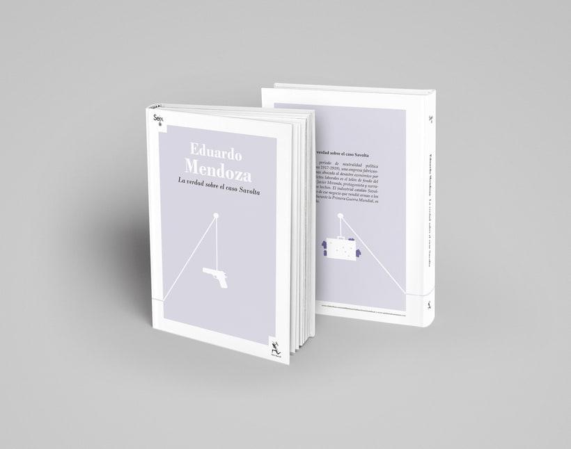 Colección de Libros Eduardo Mendoza 4