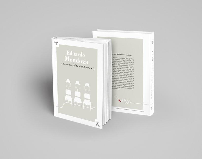 Colección de Libros Eduardo Mendoza 3