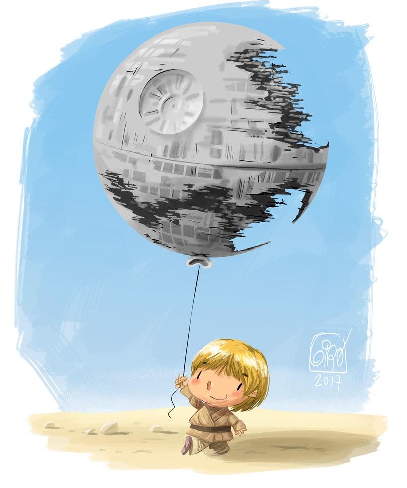 Mientras, en tatooine... -1