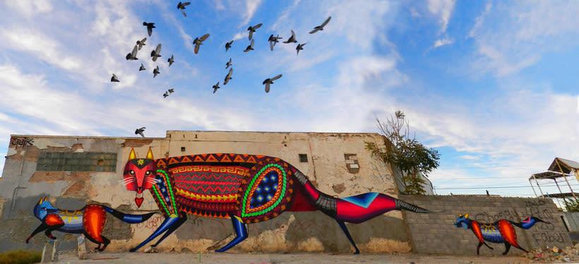 Muros somos: los nuevos muralistas mexicanos 13