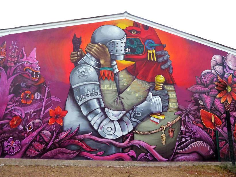Muros somos: los nuevos muralistas mexicanos 14