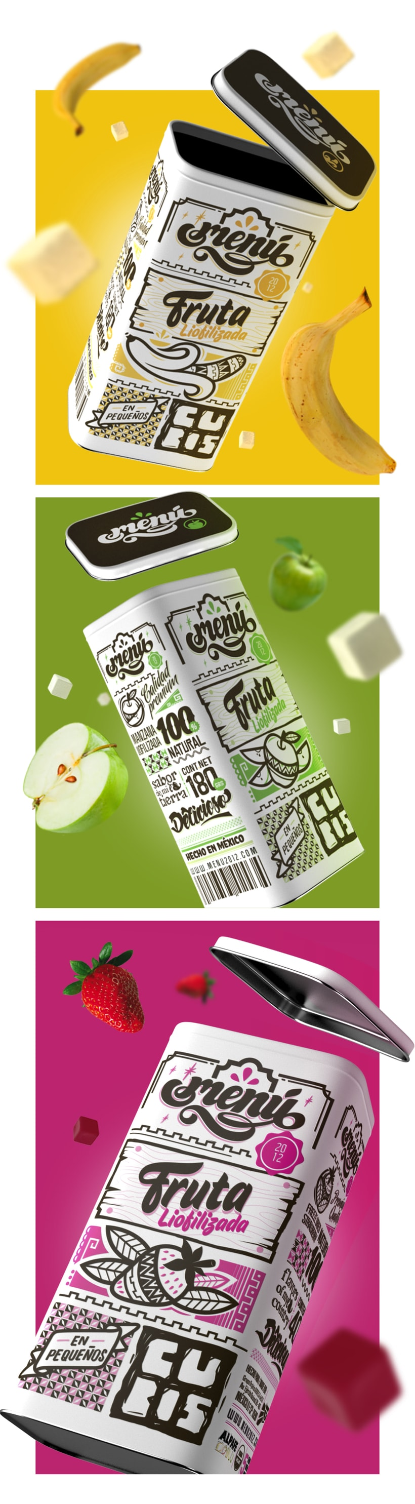 Menú Fruit - Packaging 1