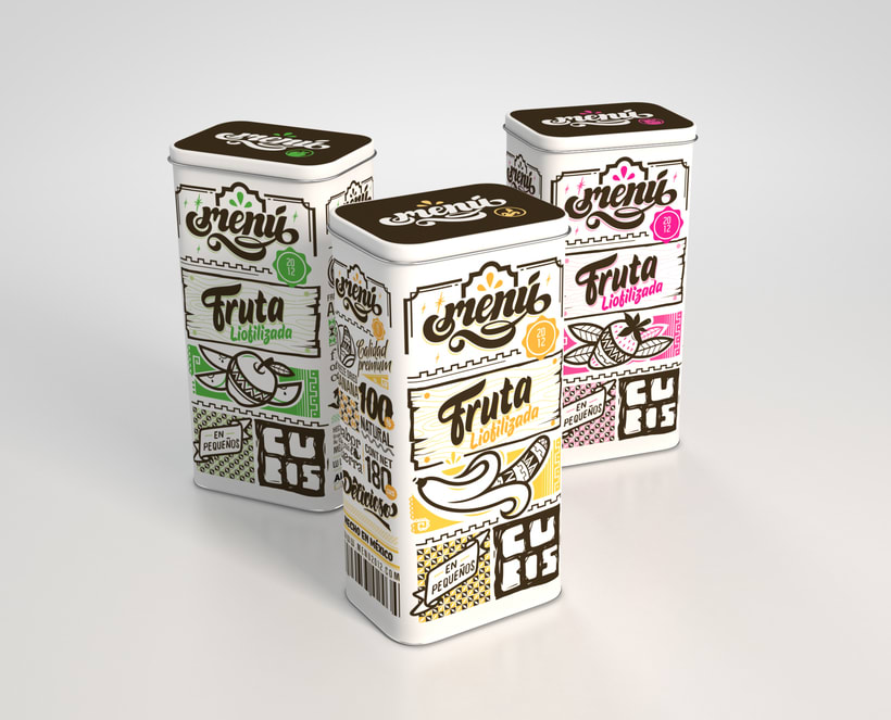 Menú Fruit - Packaging 4