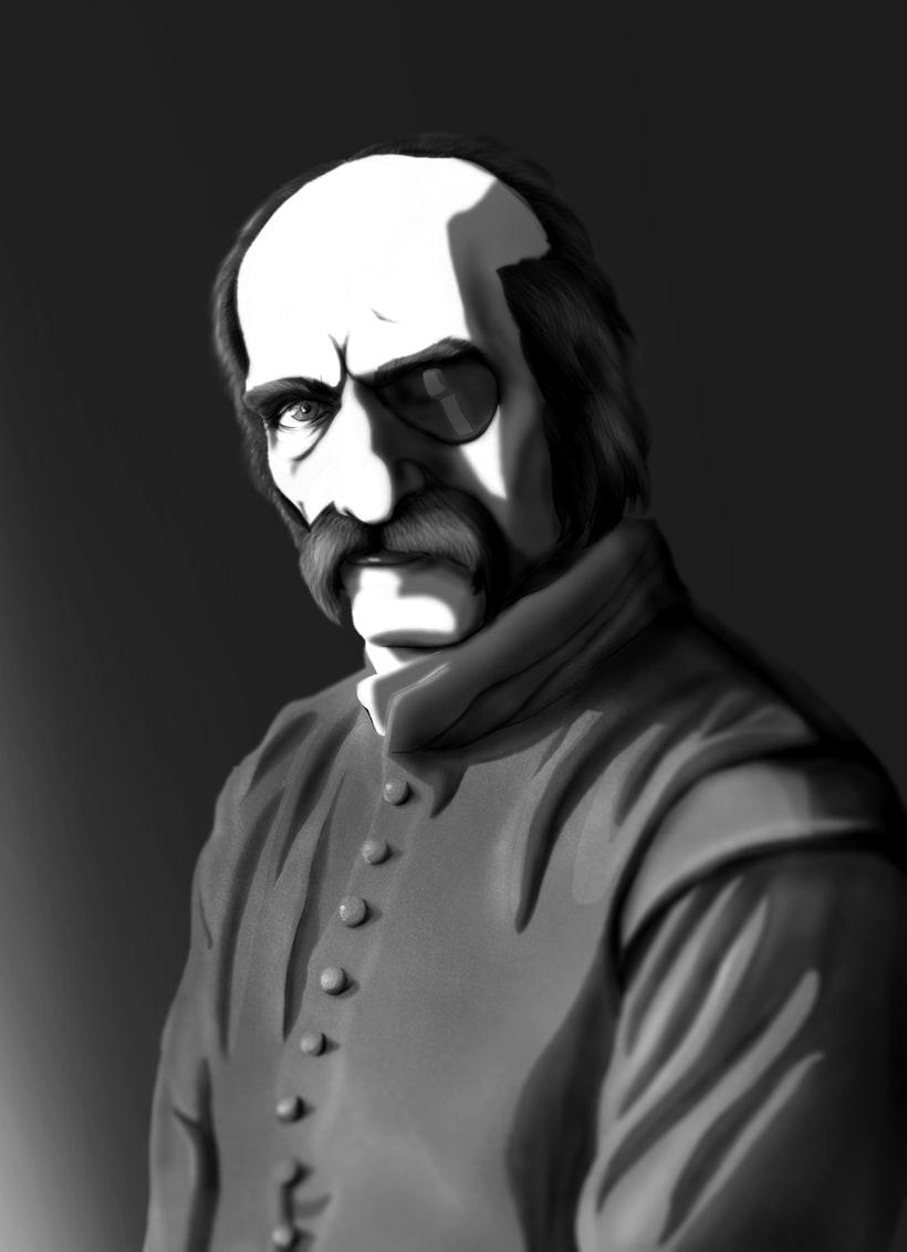 François Leclerc. Diseño de concepto. -1