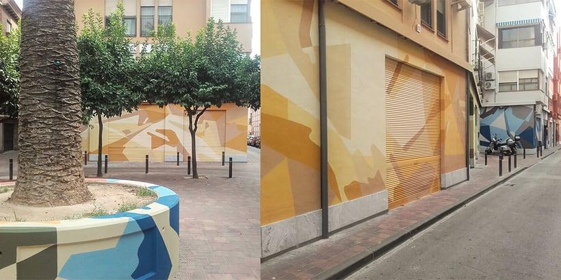 Mural Espacio Agustinas 8