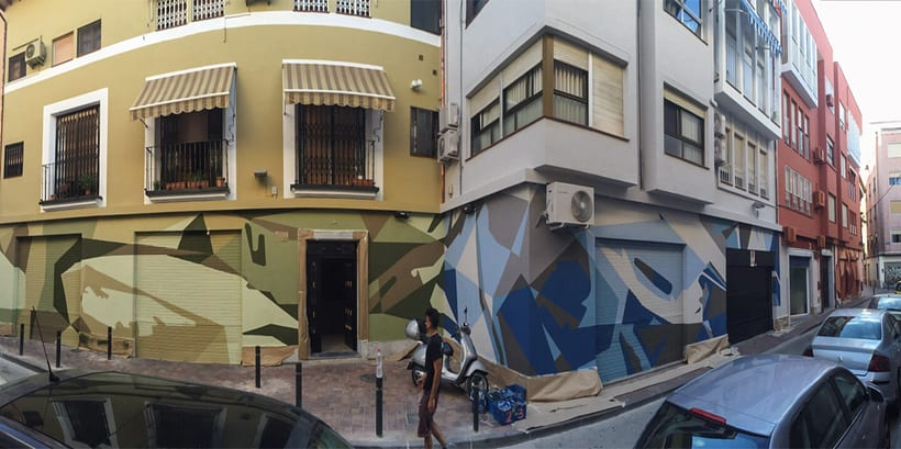 Mural Espacio Agustinas 9
