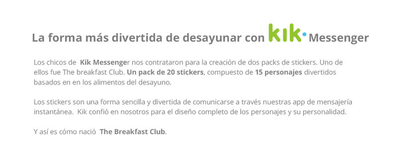 The Breakfast Club | Stickers para Kik Messenger 1