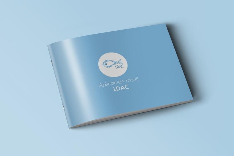 LDAC Diseño de Papelería Institucional y APP 1