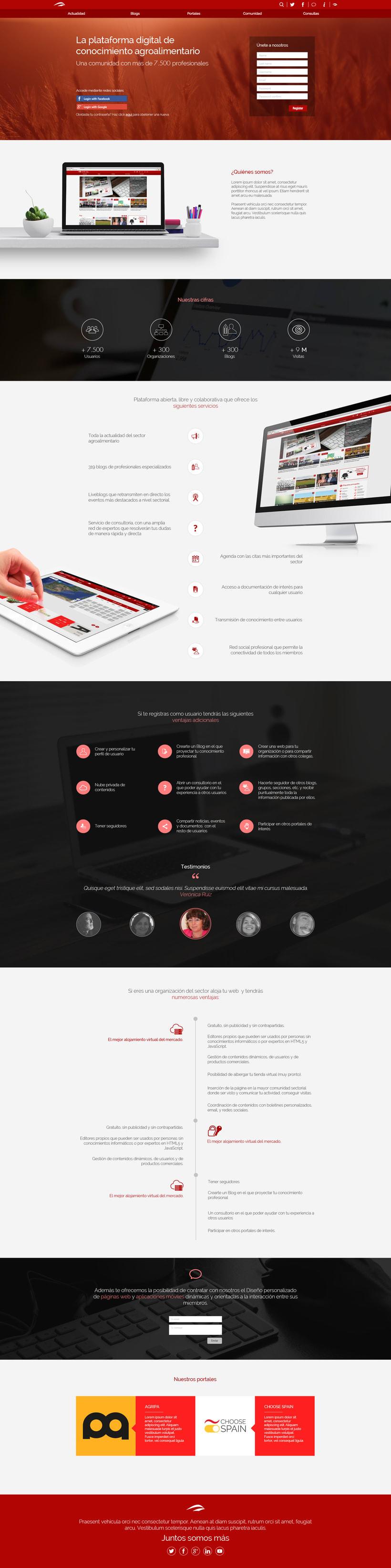 Landing Page Digital Platform -1