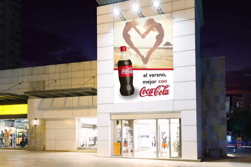 Botella Cocacola 3D 1