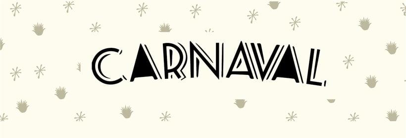 "Etiqueta y envase ""Mezcal Carnaval"" 2"