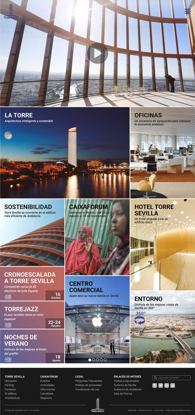 Proyecto presentado a Caixabank para el site de Torre Sevilla 0