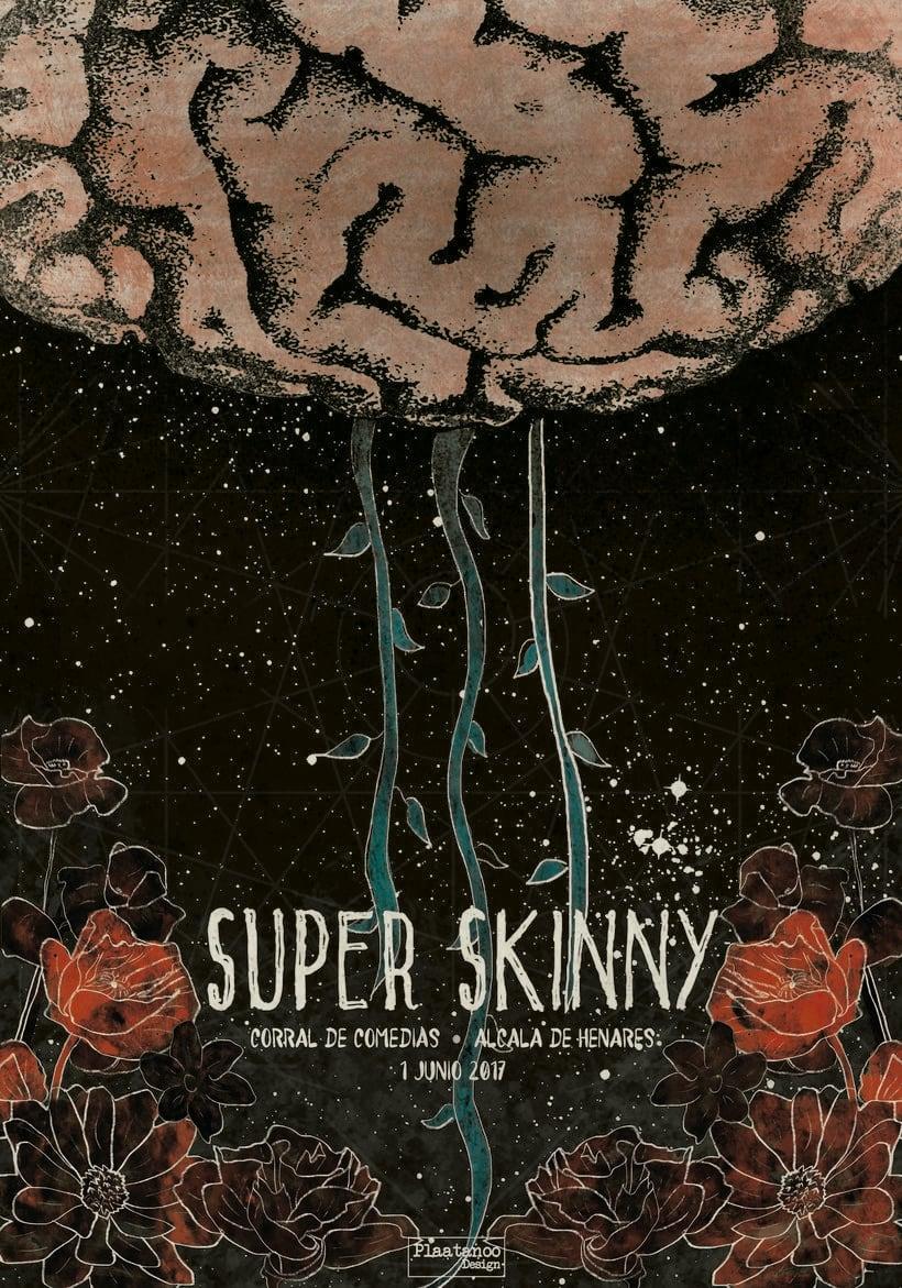 Cartel para Super Skinny -1
