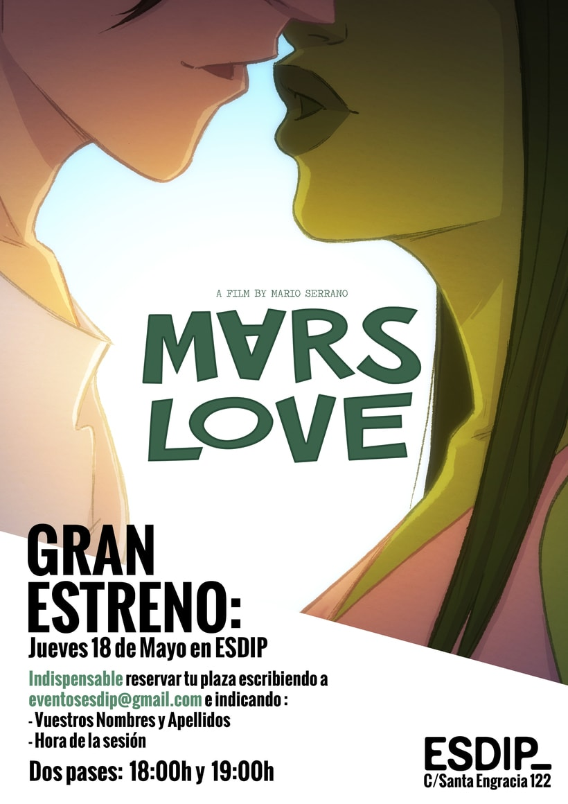 Ven al estreno de MARS LOVE 0
