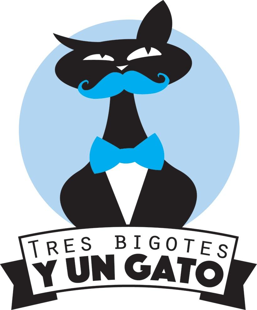Tres Bigotes y un Gato -1