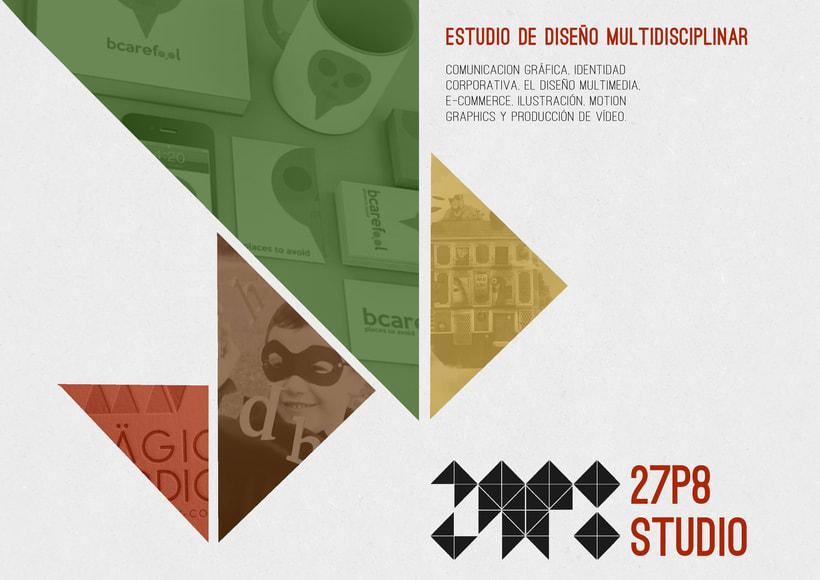 Dosier promocional 27p8 Studio 1