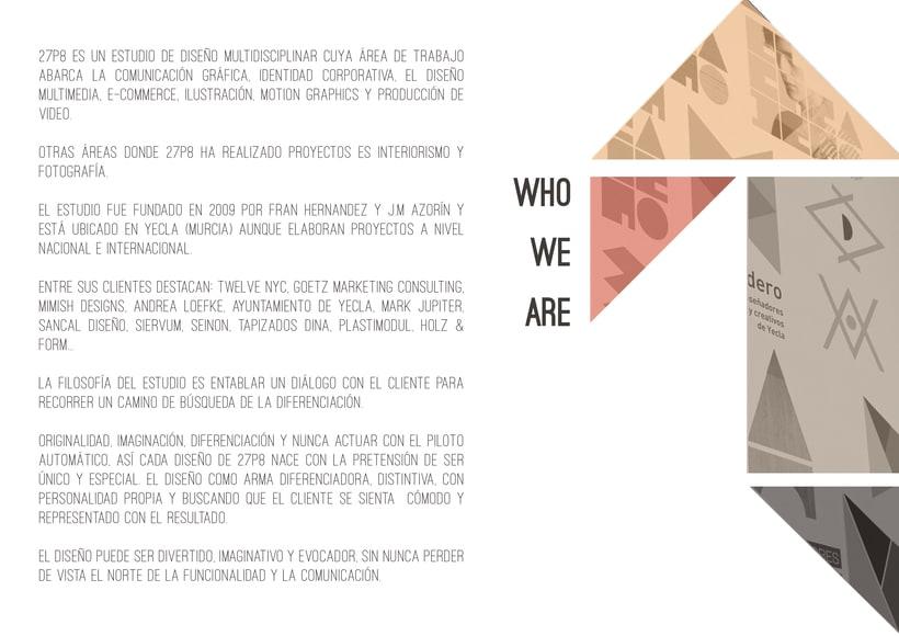 Dosier promocional 27p8 Studio 4