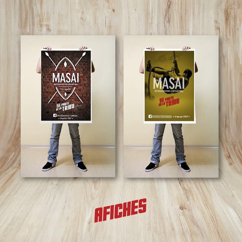 Serie Gráfica - MASAI  4