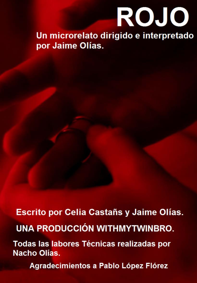 Rojo. Cortometraje ganador al premio Talento Visual Notodo Filmfest. 0