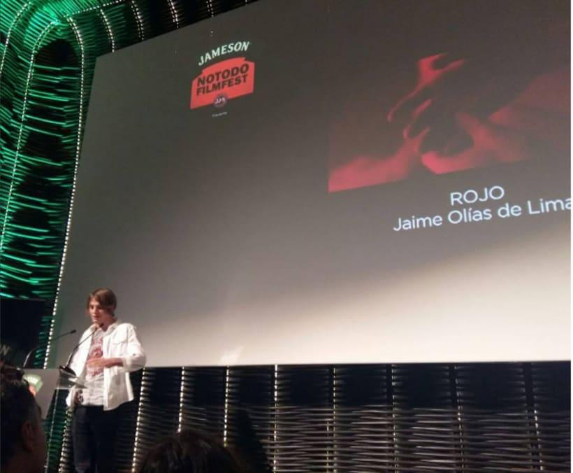 Rojo. Cortometraje ganador al premio Talento Visual Notodo Filmfest. 1