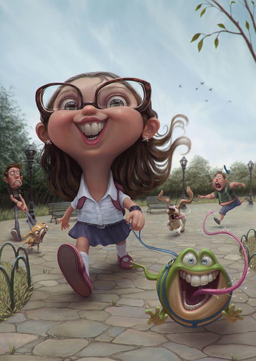 Las divertidas caricaturas de Tiago Hoisel 1