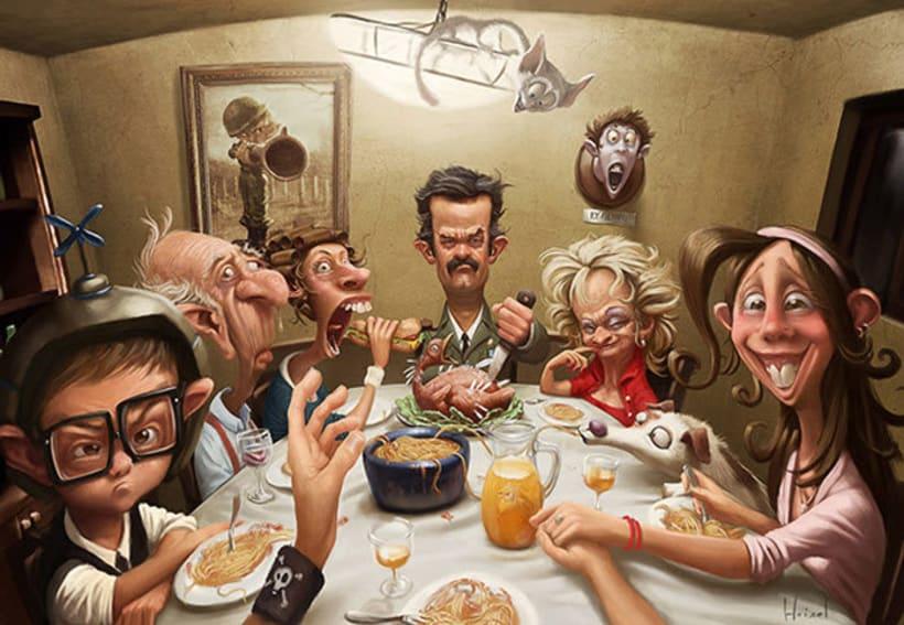 Las divertidas caricaturas de Tiago Hoisel 6