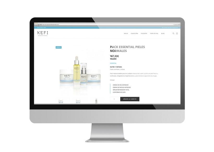 Kefi · diseño web 5