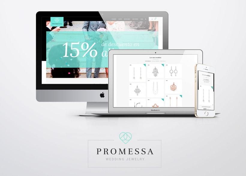 Promessa · Branding y diseño web 3