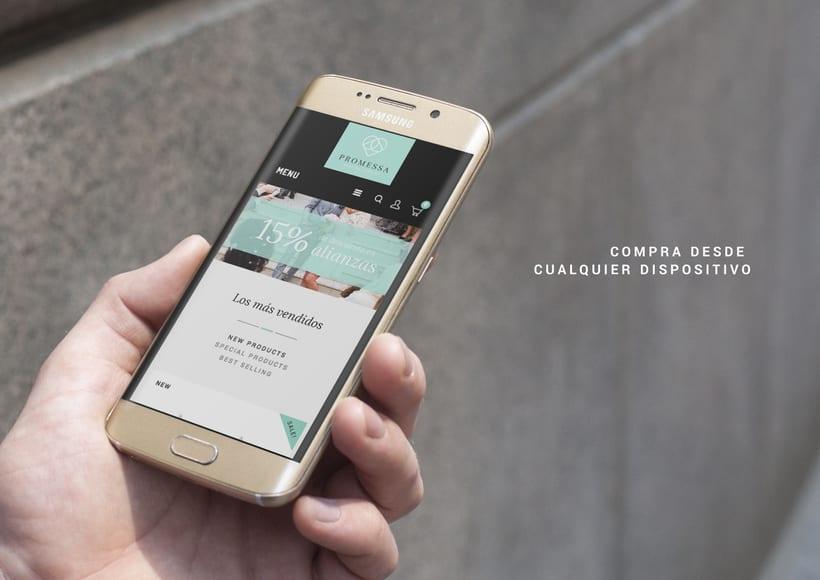 Promessa · Branding y diseño web 6