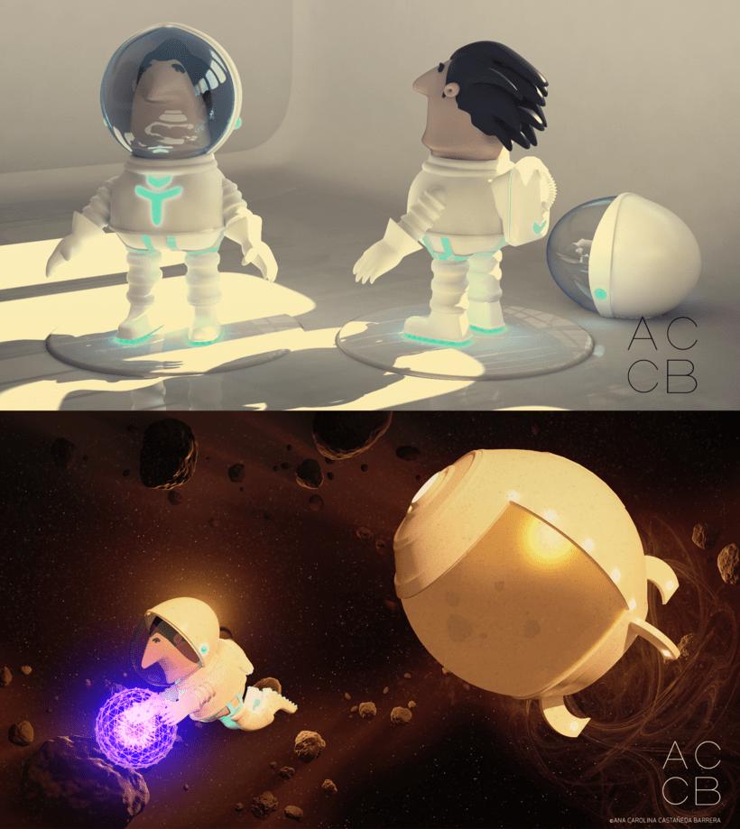 Mi Proyecto del curso: Astronauta 0