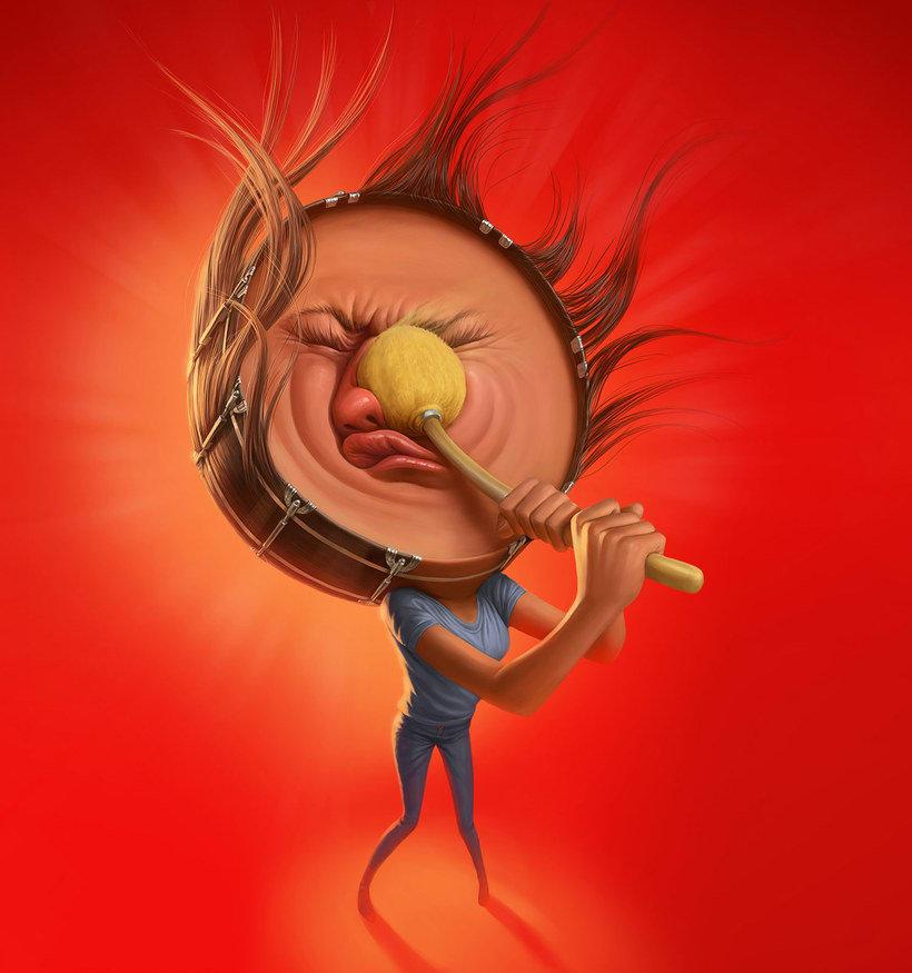 Las divertidas caricaturas de Tiago Hoisel 3