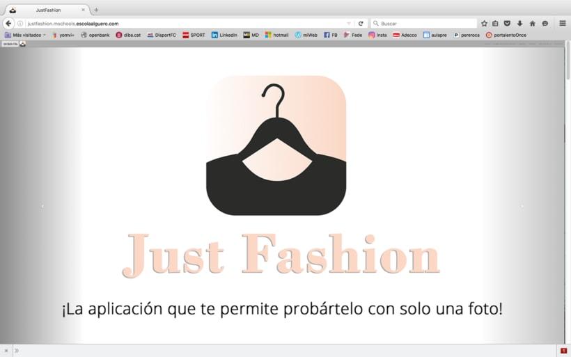 Diseño de una app promocionar per una web. -1
