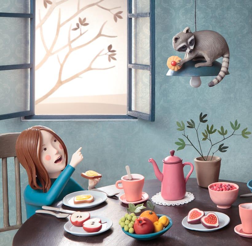 Ilustraciones con plastilina 6
