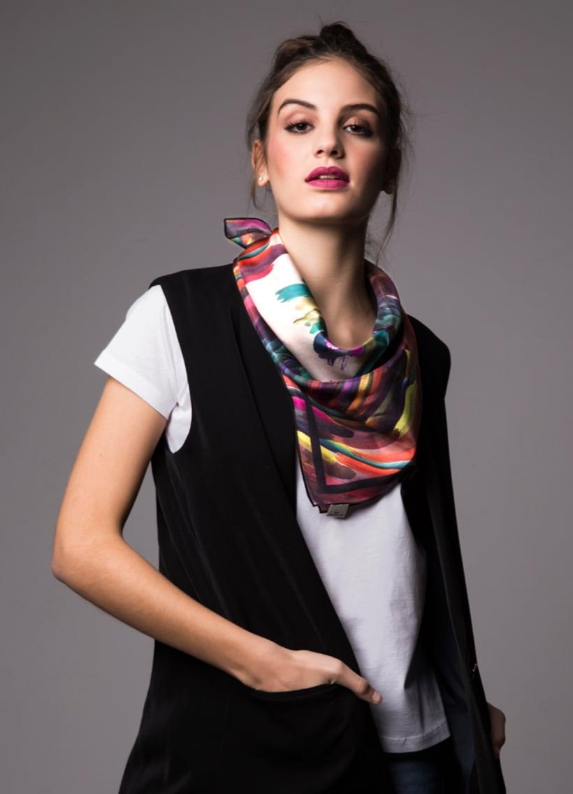 Diseño de estampado para pañuelos de seda 4