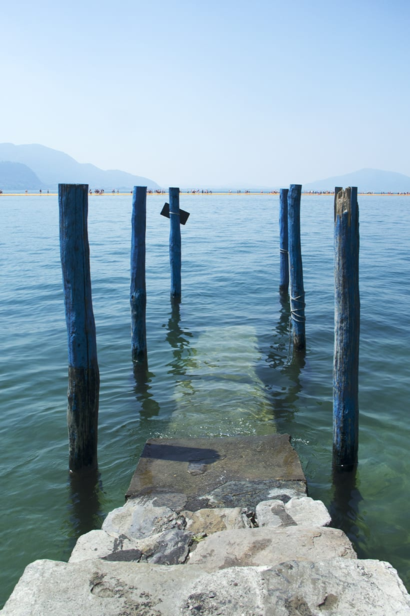 the floating piers  (Iseo lake, Italy) 2